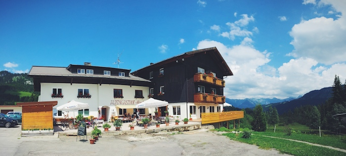 Der Alpengasthof Hörnlepass im Kleinwalsertal