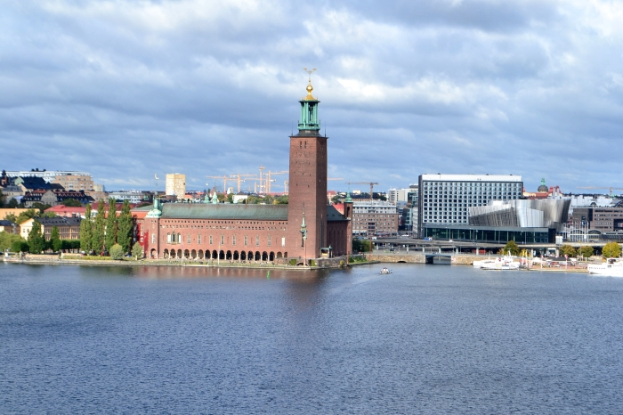 Stockholm Museums: A panoramic view of the Stadshuset in Stockholm