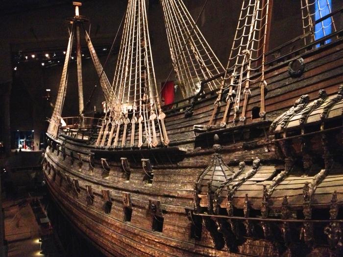 Stockholm Museums: Das Vasa Schiff im Vasa Museum in Stockholm