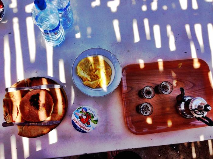 Das Frühstück in Marokko