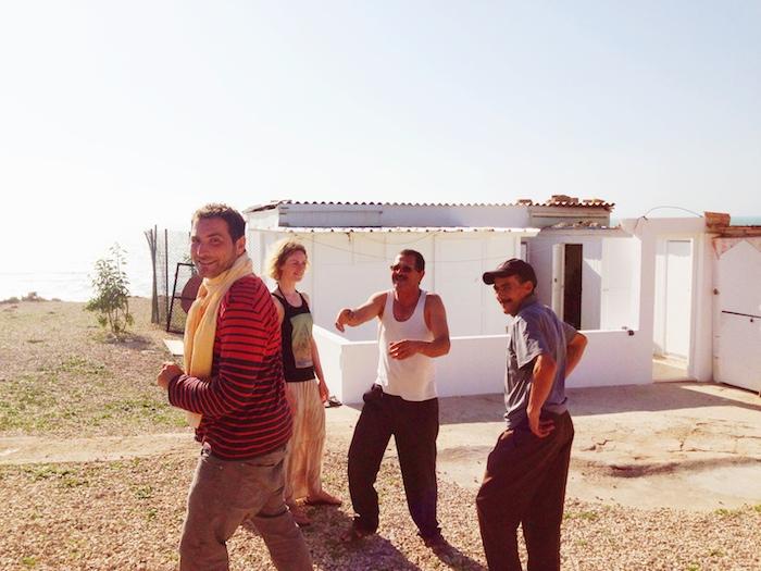 Die Gruppe in Marokko