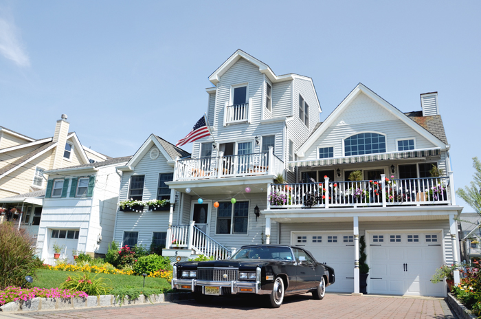 Ein prachtvolles Haus in Ocean Grove am Jersey Shore