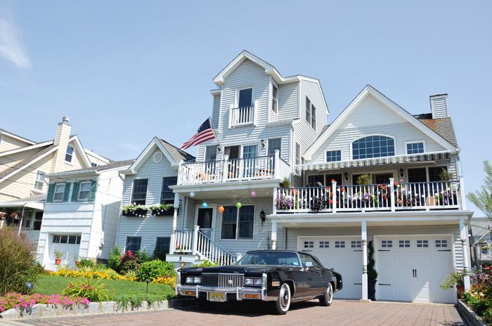 Ein prachtvolles Haus in Ocean Grove am Jersey Shore
