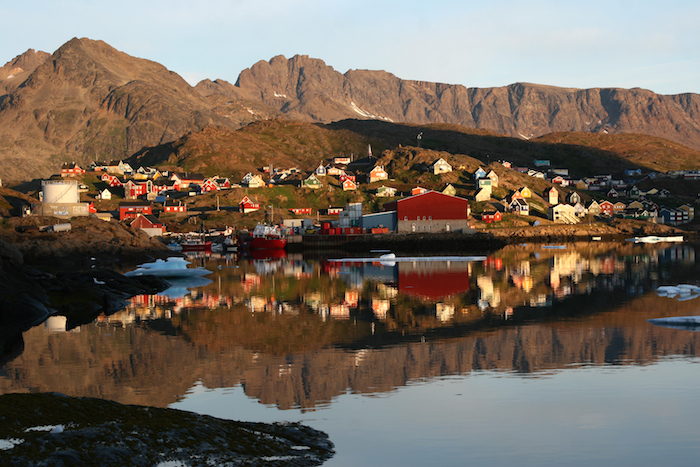 A nice bay in the bucket list destination Greenland