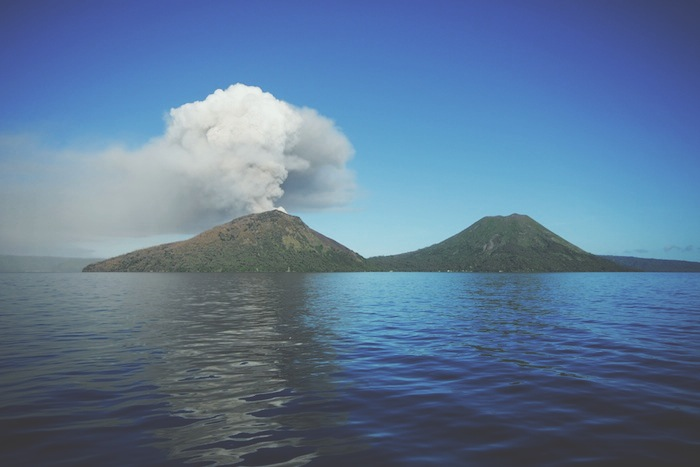 A Volcano in my The bucket list destination Papua New Guinea