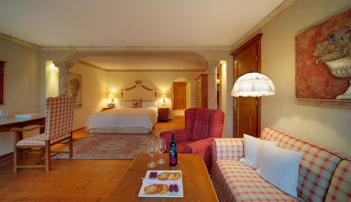 Juniorsuite im Reiters Posthotel Achenkirch