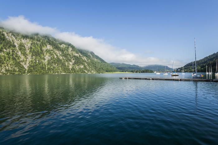 Der Achensee beim Reiters Posthotel Achenkirch