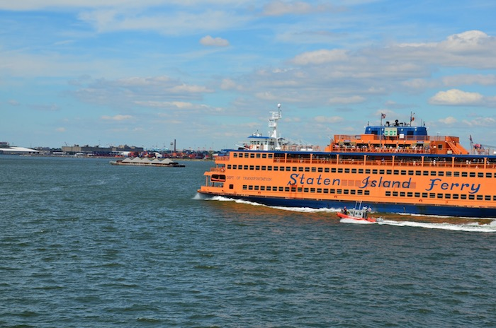 Staten Island Ferry im Close