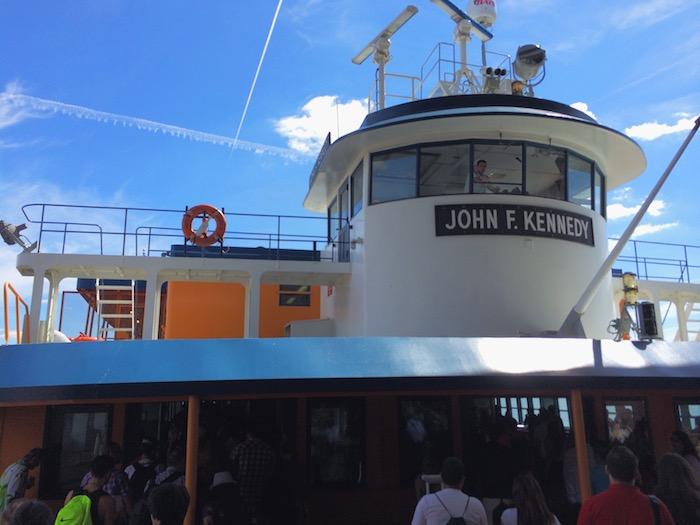 Führerhäuschen der Staten Island Ferry