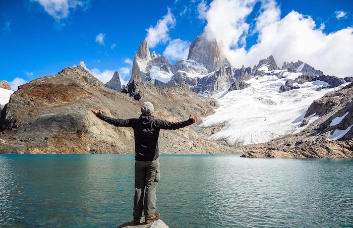 Steve in Südamerika