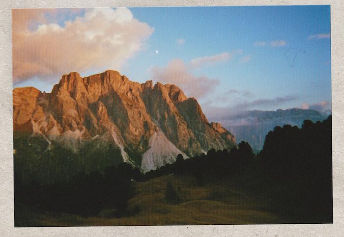 Digital Detox in Südtirol: Berge im Abendrot