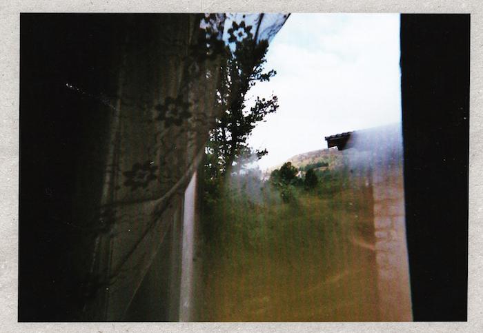 Digital Detox in Südtirol: Beschlagene Fensterscheibe in Regensburgerhütte