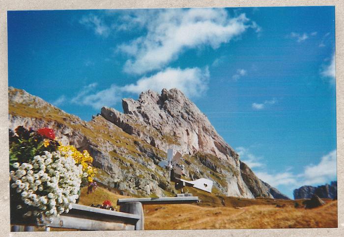 Digital Detox in Südtirol: Blumen an der Troier Hütte