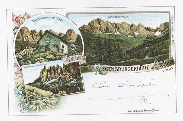 Digital Detox in Südtirol in der Regensburgerhütte in Gröden