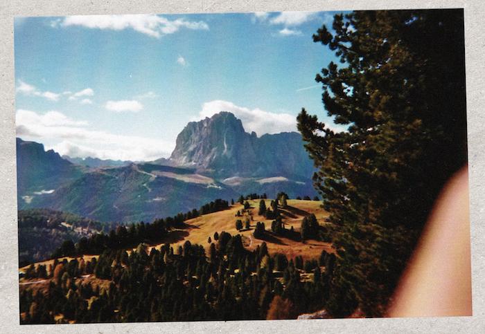 Digital Detox in Südtirol: Der Langkofel am Horizont