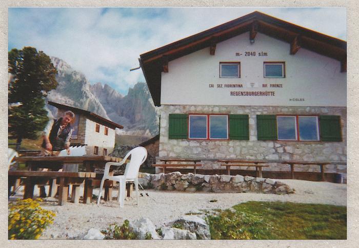 Digital Detox in Südtirol: Die Regensburgerhütte von außen
