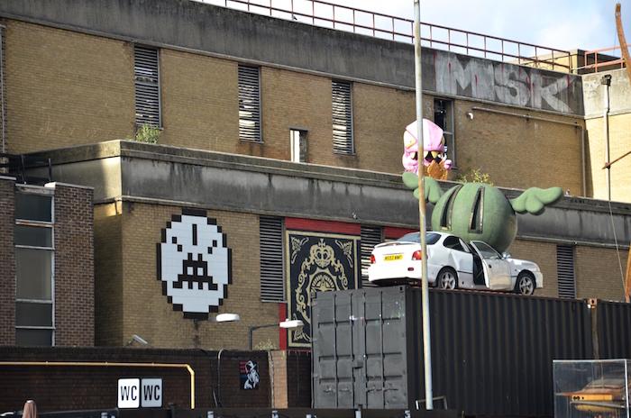 Streetart in London geht nicht ohne Banksy