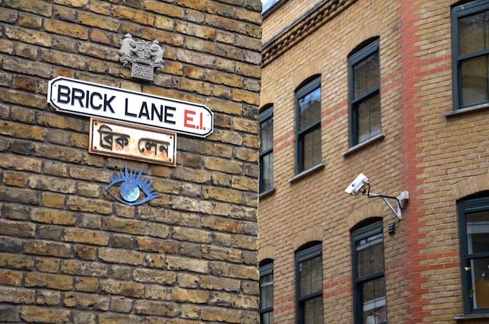 Streetart in London ist vor allem auf der Brick Lane zu finden