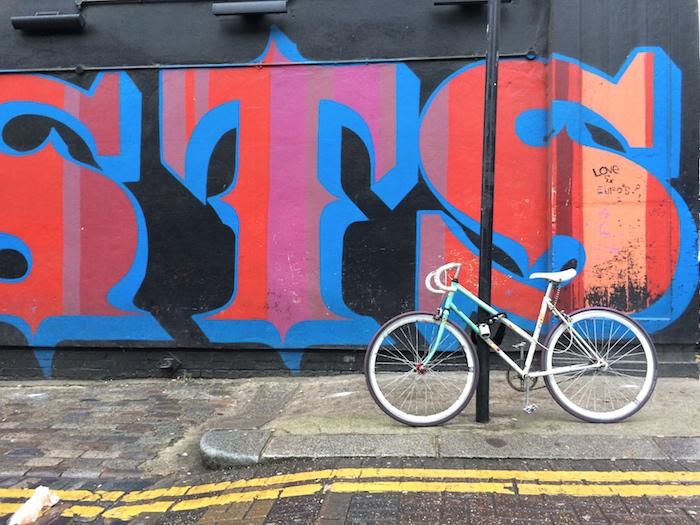 Streetart in London gibt es auch nahe der Redchurch Street