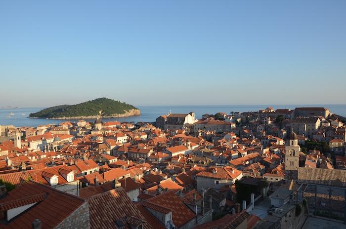 Dubrovnik in Kroation ist einer der Unesco Welterbestätten