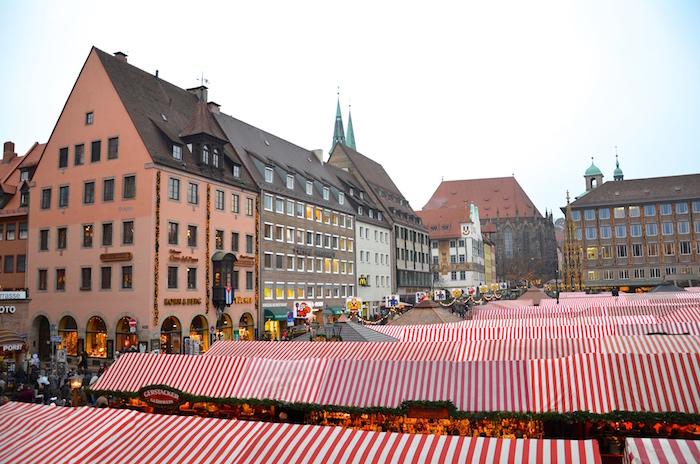 Der Christkindlesmarkt in Nurnberg