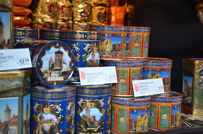 Lebkuchen auf dem Christkindlesmarkt in Nürnberg