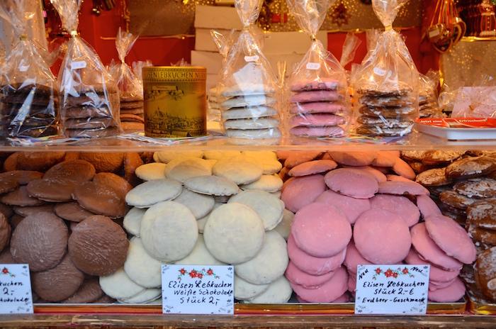 Elisen Lebkuchen auf dem Christkindlesmarkt in Nürnberg