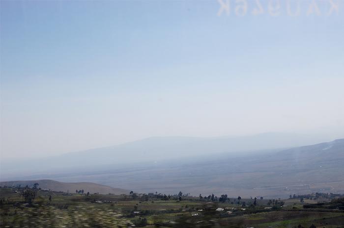 Rift Valley auf dem Weg von Nairobi nach Naivasha in Kenia