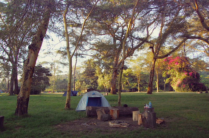 Campingplatz am Lake Naivasha