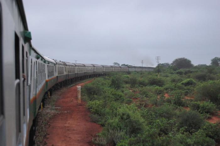 Der Zug von Nairobi nach Mombasa
