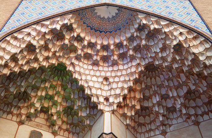 In Kashan Bazaar im Iran