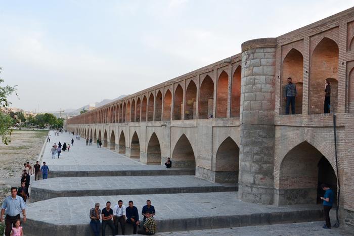 Mit dem Visum Iran kann man nach Esfahan