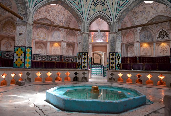 Nicht ohne Visum Iran: Besuch eines Hamams in Kashan im Iran