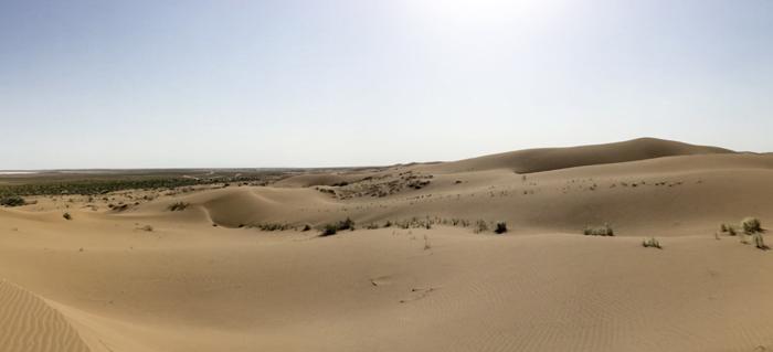 Die Wüste Dasht e Kavir im Iran
