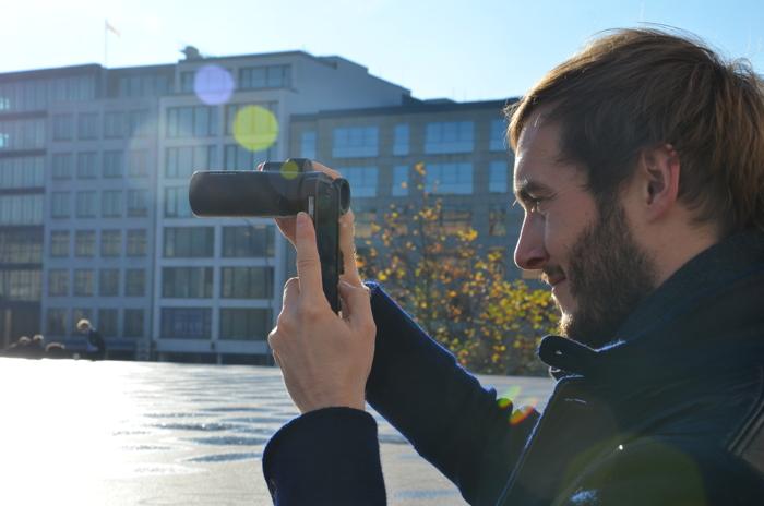 Hamburg Tipps recherchieren mit dem Swarovski CL Pocket Fernglas