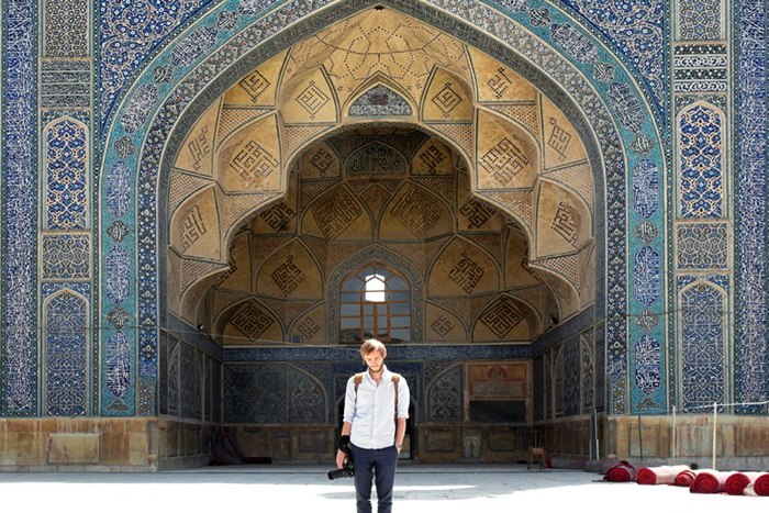 Backpacking Iran