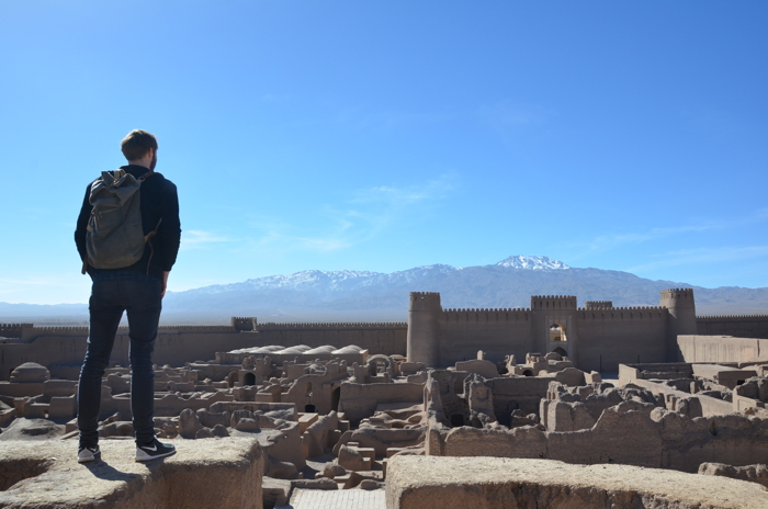 Backpacking Iran in Rayen