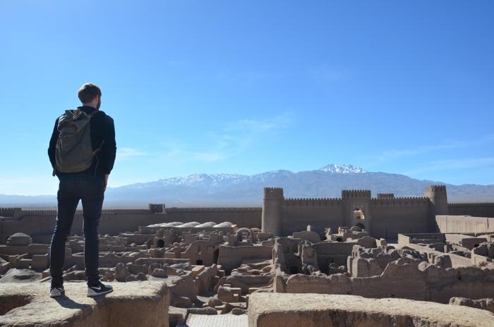 Backpacking Iran in Rayen