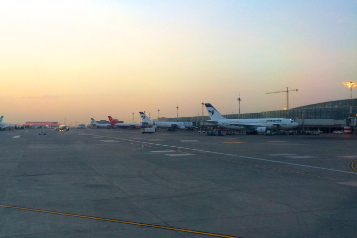 Backpacking Iran arrival