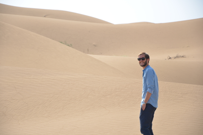 Backpacking Iran: desert