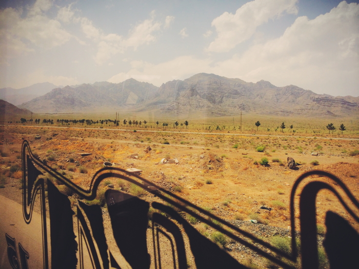 Backpacking Iran Transport
