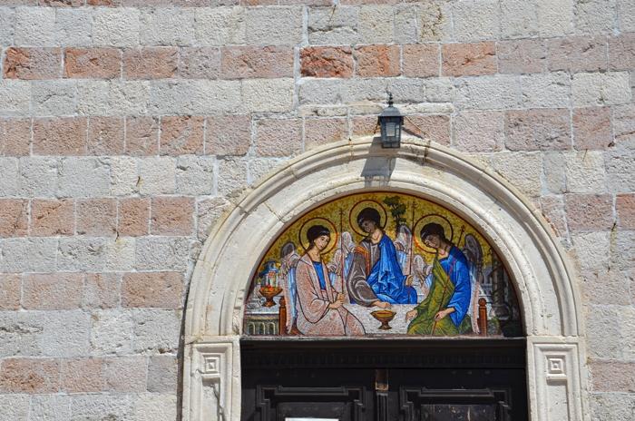 Kirche in Budva in Montenegro