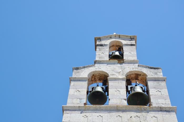 Kirche in Budva, Montenegro