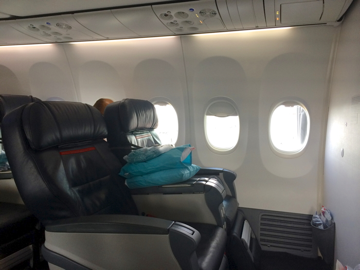 Turkish Airlines Business Class Bestuhlung