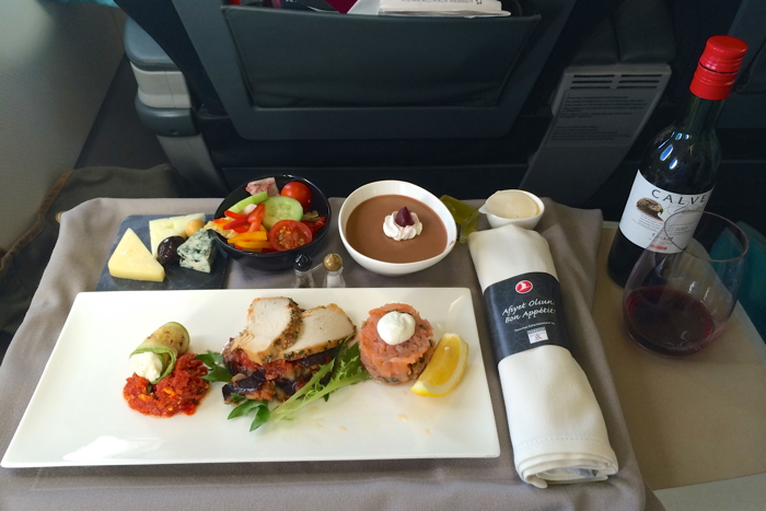 Turkish Airlines Business Class Test Essen