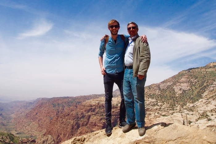 In Jordanien mit Reiseführer Ayman