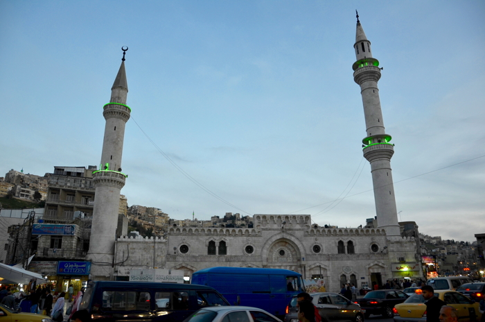 Jordan experience with mosques