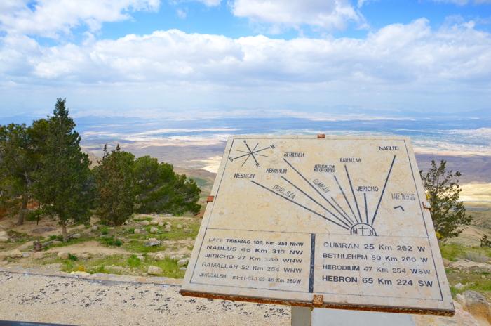 Jordan experience on Mount Nebo
