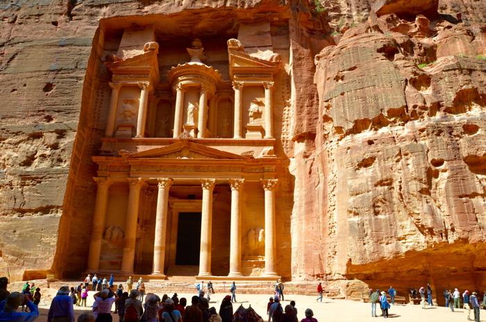Petra in Jordanien ist einer der Unesco Welterbestätten