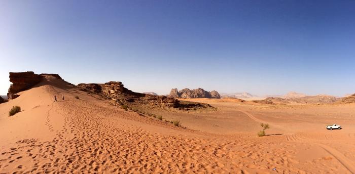 Wadi Rum in Jordanien